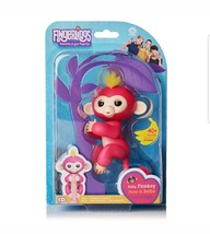 FINGERLINGS Fingerling Interactive Baby Finger Monkey Digital Toy Pink B... - $14.84