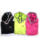 Puma Girls Full Zipper Hoodies 3 Colors to Choose From Sizes 4, 5, 6 and... - $14.94