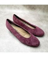 "Cobbie Cuddlers Womens  27249 Sz 8 W Purple  Leather Slip On 2"" Wedge - $27.99"