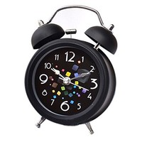 Koala Superstore 4 inches European Style Double Bell Alarm Clock Silent Alarm Cl - $25.69