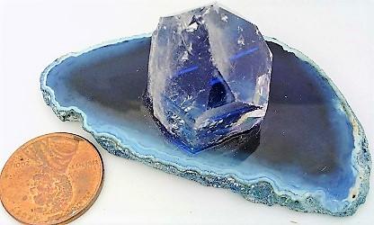 Agate quartz display  5