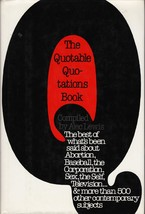 The Quotable Quotation Book [Hardcover] Alec Lewis - $6.20