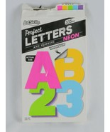 ArtSkills Project Letters and Numbers Neon 335 pc - $2.99