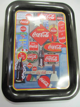 Coca Cola Metal  TV Tray  -Collage of Signs- New - Replica - $13.37