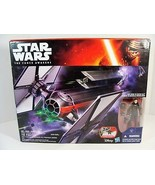 STAR WARS THE FORCE AWAKENS TIE FIGHTER WITH 3 3/4 INCH FIRST ORDER PILO... - $49.49