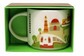 Starbucks You Are Here New Delhi Ceramic Coffee Mug New with Box - $41.40