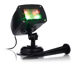 Improvements Red and Green Quatro Laser Light with Timer, HSN Price $150 - $44.54