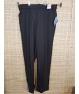 UNITED UNIFORM MENS UNIFORM PANTS 40 X 33 100% POLYESTER DRY-TEX BLACK R... - $19.59