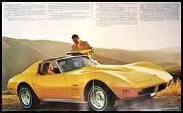1974 Chevy Corvette Stingray ORIGINAL Brochure GM MINT 74 - $11.86