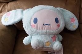 "Sanrio Cinnamoroll Blue Brand New Plush Stuffed Animal 15"" Japan Toreba Rare! - $49.99"