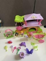 2009 Fisher Price Little People Fairy Fairies Tree House Playset horse C... - $98.01