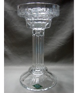 Shannon Crystal Tall large Pillar /Taper Candle Holder - $25.99