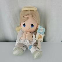 Luv N Care Praying Pray Precious Moments Angel Boy Brown Hair NEW, NON-W... - $24.74