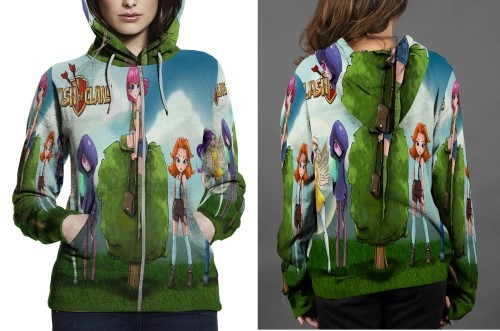 5 kid ladies final copy hoodie zipper fullprint women