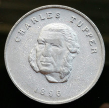 1896 Canada Charles Tupper House of Commons Coin  - D7 - $3.98