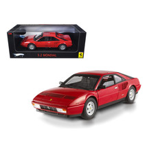 Ferrari 3.2 Mondial Red Elite Edition 1/18 Diecast Model Car by Hotwheel... - $85.33