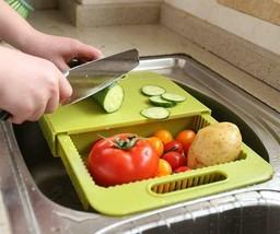 Storage Chopping Board Cutting Board Strainer sink - $29.69