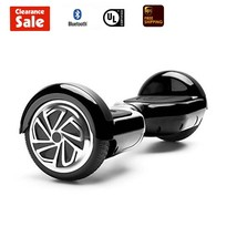"GlareWheel Self balancing Electric scooter Hoverboard Bluetooth 6.5""Black - $99.00"