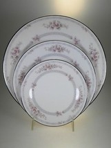 Noritake Scarborough Dinner Plate, Salad Plate, And Bread & Butter Plate... - $22.40