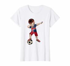 Dad Shirts - Dabbing Soccer Boy Iceland Jersey Shirt - Football Tee Gift Wowen - $19.95+