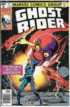 Ghost Rider Comic Book #41 Marvel Comics 1980 Very Fine Newsstand Version - $13.54