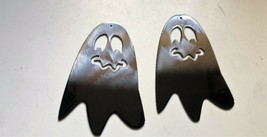 """Ghostly Boos Metal Wall Art Accents   4 1/2"""" tall x 3"""" wide each 2 per set - $15.99"""