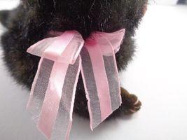 Halloween Ty Black Cat Heiress Pink Bow Plush Stuffed Animal Toy Doll image 4
