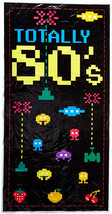 Totally 80's Door Cover Party Accessory (1 count) (1/Pkg) - $12.42