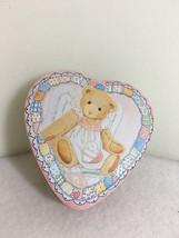 Cherished Teddies Tin Heart Box  New - $25.69