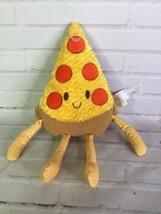 2018 Animal Adventure Pepperoni Pizza Slice Comfort Food Stuffed Soft Plush Toy - $59.40