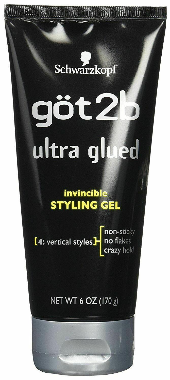 NEW Schwarzkopf got2b Ultra Glued Invincible Styling Gel 6 oz (170 g) - $13.80