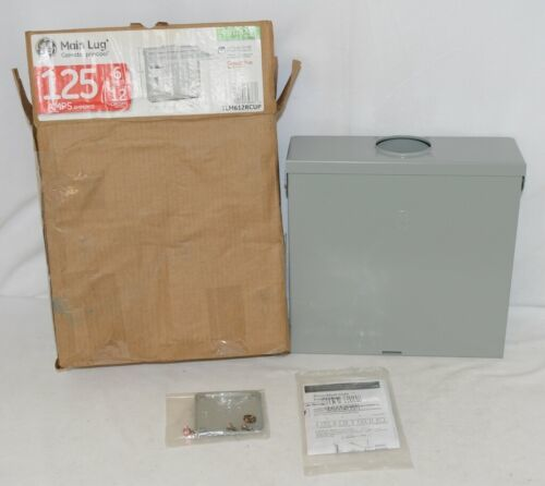 GE TLM612RCUP Main Lug Outdoor Surface Mount 6 Spaces 125 Amps