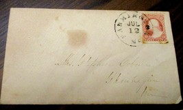 United States  early cover with tied 11A, variety unchecked - $4.00