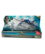 DC Aquaman Movie Vulko & Hammerhead Shark Action Figure Set - $31.67