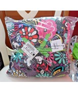 Vera Bradley Disney Mickey and Minnie Mouse Magical Blooms fleece throw ... - $139.99