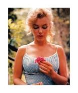 *Marilyn Monroe Flower Wall Poster Art 08x10 Free Shipping - $11.00