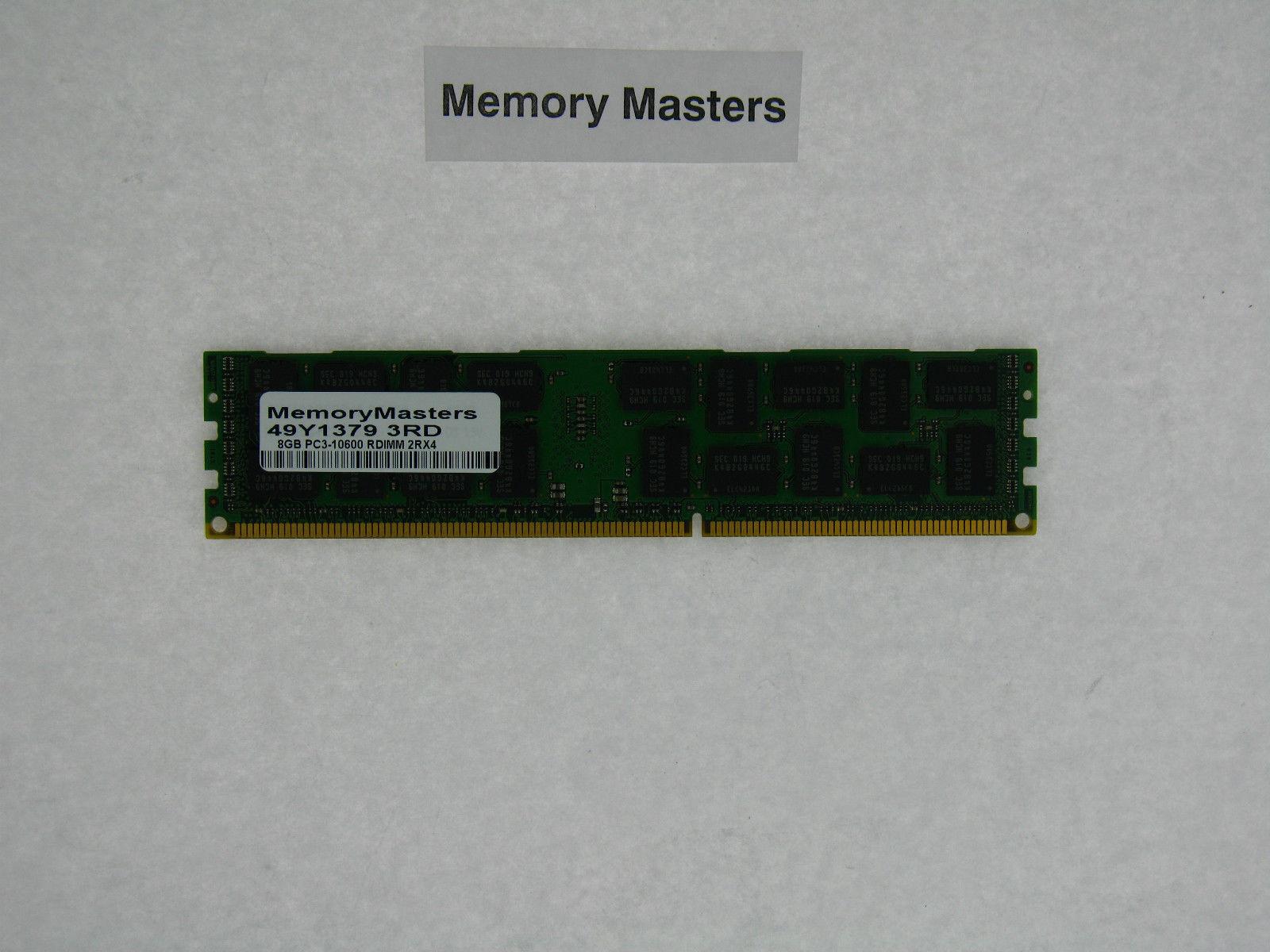 8GB 2x4GB PC3-10600 ECC REG HP  Compaq  Workstation Z820 NOT FOR PC//MAC NEW