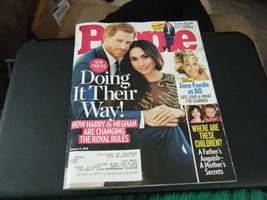 People Magazine - Prince Harry & Meghan Markle Cover - January 8, 2018 - $5.35