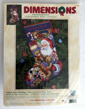 Dimensions 9129 Cross Stitch Santa's Toys Stocking - Brackenbury - $197.99