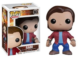 Supernatural TV Series Sam Vinyl POP! Figure Toy #93 FUNKO NEW MIB - $12.55