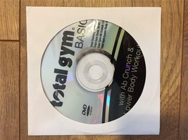 Total Gym Basic AbCrunch and Lower Body Workout DVD features Rosalie Brown - $22.76