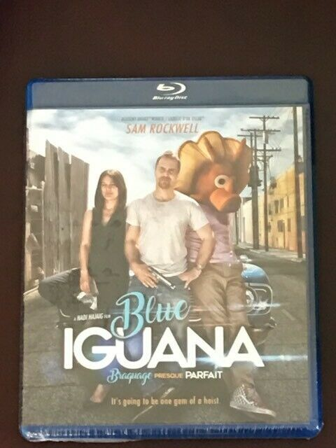 Blue Iguana (Canadian Blu-ray with USA Compatible Disc) BRAND NEW