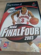 Sony PS2 Ncaa Final Four 2003 - $4.00
