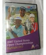 USGA 2007 United States Open Championships Highlight DVD Golf New - $17.81