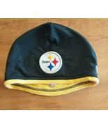 Pittsburgh Steelers NFL Black Ski Cap - Cuffless Beanie Winter Hat NEW E... - $9.89