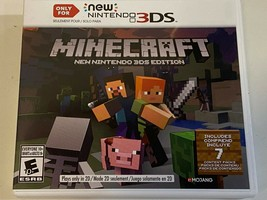 Minecraft: New Nintendo 3DS Edition - New Nintendo 3DS Game Sealed - $32.99