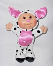 CPK Cabbage Patch Kids Farm Friends Cow Baby Doll Satin Ears Tummy Pink ... - $12.84