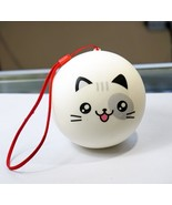 SQUISHY CAT CELL PHONE CHARM KIDS GIFT SLOW RISING STRESS RELIEF SQUISHY... - $7.99