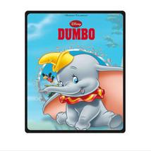 "great DISNEY DUMBO blanket large throw 58"" x 80"" warm mat - $60.69 CAD"