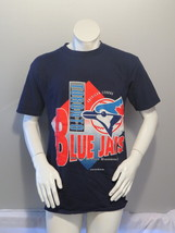 Toronto Blue Jays Shirt (VTG) - Big Logo by Harley Sports - Men's Large  - $49.00